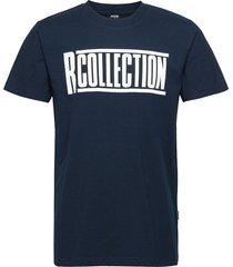 classic t-shirt t-shirts short-sleeved blå r-collection
