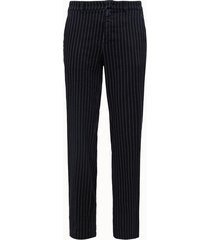 department 5 pantalone jovi con motivo gessato