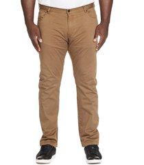 men's johnny bigg benny five-pocket pants, size 40 x 33 - yellow