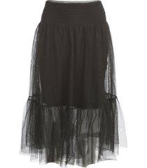 blugirl tulle skirt w/flounce