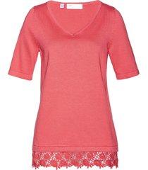 pullover a manica corta (fucsia) - bpc selection premium