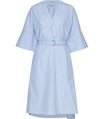 cassy jurk knielengte blauw dagmar