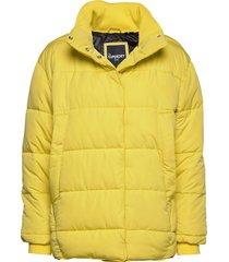 edit ume padded jacket fodrad jacka gul superdry