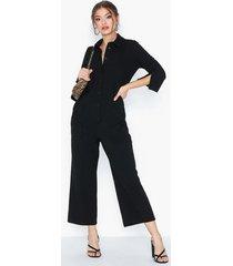 closet 3/4 sleeve boiler suit jumpsuits