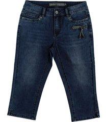 geisha capri jeans blue denim