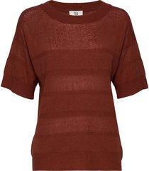 pullover t-shirts & tops knitted t-shirts/tops röd noa noa