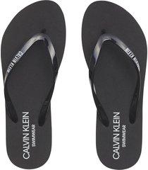 sandalia ff sandals negro calvin klein
