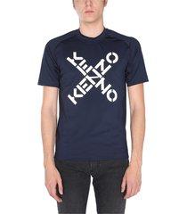 big x print t-shirt