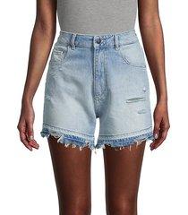 hepburn denim shorts