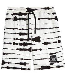 men's burberry alberto zebra sweat shorts