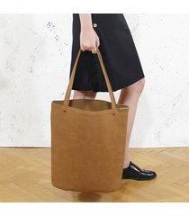 shopper xl torba ruda / rdzawa na zamek