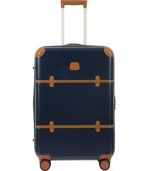 bric's bellagio 2.0 27-inch rolling spinner suitcase - blue