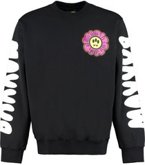 barrow printed crew-neck sweatshirt