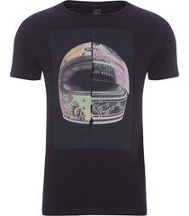 t-shirt masculina helmet - preto