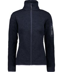 blazer cmp knit-tech meliert fleece jacket women