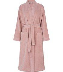 robe morgonrock rosa rosemunde