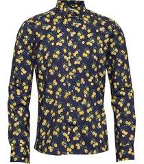 8604 - jake sc skjorta casual blå xo shirtmaker by sand copenhagen