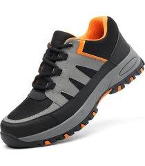 scarpe antinfortunistiche da uomo in acciaio con puntale anti shock