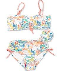 printed spandex bikini