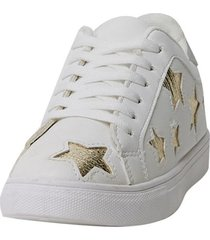 zapatilla estrellas teen blanco corona