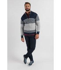 sweater azul oxford polo club ringo
