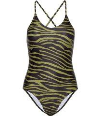ummi swimsuit baddräkt badkläder grön résumé