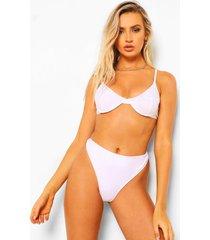 essentials sexy tanga bikini broekje, wit