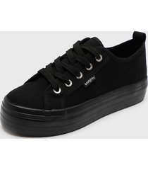 zapatilla new canvas negro bamers