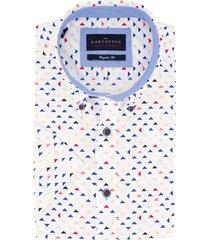 korte mouw overhemd portofino regular fit