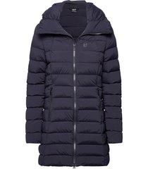 arabella w coat fodrad jacka blå 8848 altitude
