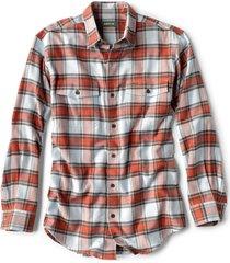 fairbanks elk creek jaspe long-sleeved flannel shirt