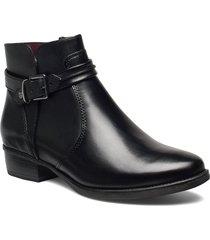 boots shoes boots ankle boots ankle boots flat heel svart tamaris