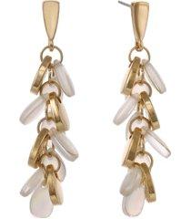 laundry by shelli segal linear pearl earrings