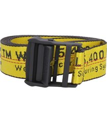 off-white classic industrial fabric belt