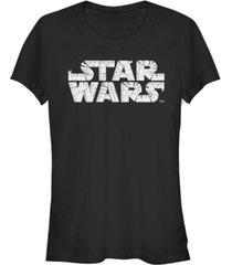 fifth sun star wars women's mummy wraps logo halloween short sleeve tee shirt