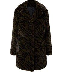 chandi coat faux fur