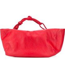 aeron ruched shoulder bag - red