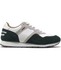 zapatillas para hombre con cordones pine blanco enrico coveri muji nylon 03