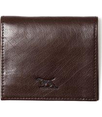 men's rodd & gunn four mile bay leather wallet - brown