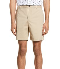men's club monaco baxter shorts, size 28 - beige