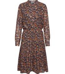 abbi knälång klänning blå sofie schnoor