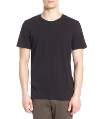 men's vince crewneck t-shirt, size x-large - black