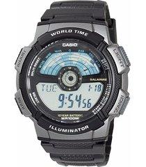 reloj casio hombre ae-1100w-1a digital / resistente al agua - negro