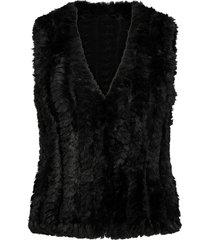 sc-nabi vests padded vests zwart soyaconcept