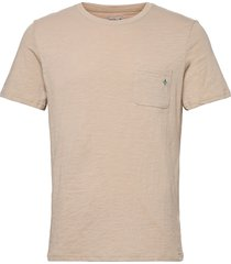 lily tee t-shirts short-sleeved beige morris