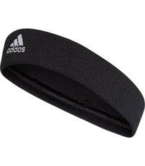 faixa adidas tennis headband preto - tricae
