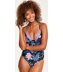 moonflower one-piece swimsuit