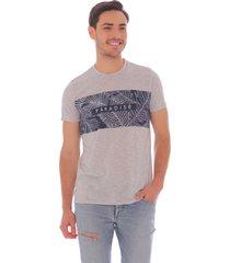 camiseta estampada para hombre x59271
