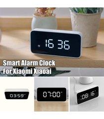 xiaomi xiaoai smart home despertador reloj control de voz broadcast --- blanca - blanco