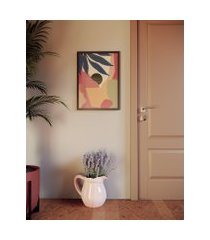 amaro feminino obrah poster pontal - 42 x 59,4cm, multi colorido
